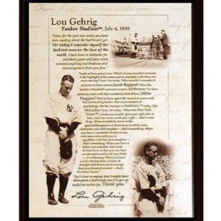 """soapstone analysis of lou gehrigs retirement Your browser does not support iframes friday, july 4, marks the 75th anniversary of lou gehrig's beautiful and heartbreaking retirement speech, when he declared himself """"the luckiest man on."""