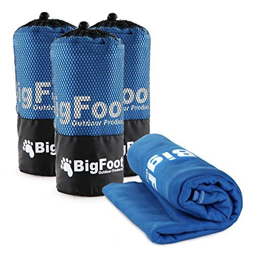 Great Camping Hammock : BigFoot Outdoor  3 Pack ExtraLarge 60 X 30 Microfiber Camping Sports Towel  Ultra Absorbent and Quick Drying Backpacking Yoga BeachBigFoot Outdoor  3 Pack ExtraLarge 60 X 30 Microfiber Camping Sports Towel  Ultra Absorbent and Quick Drying Backpacking Yoga Beach ** You can get more details by clicking on the image. Note:It is Affiliate Link to Amazon.