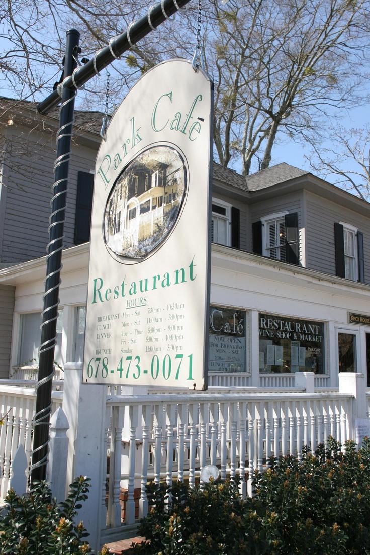 Park Cafe In Duluth GA Gwinnett Restaurant Week