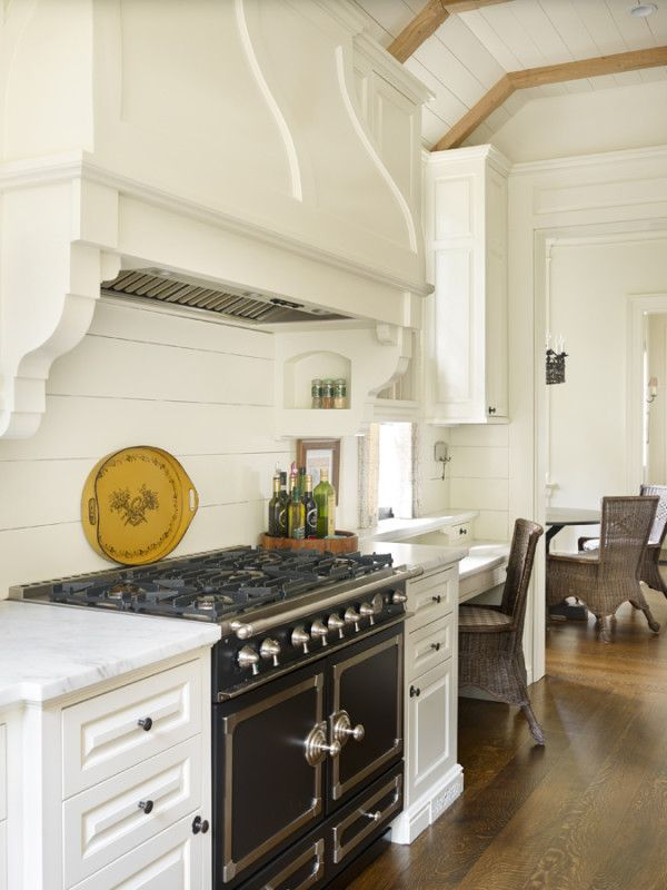 Thoughtful design yields an amazing southern kitchen la cornue other and the black - La cornue kitchen designs ...