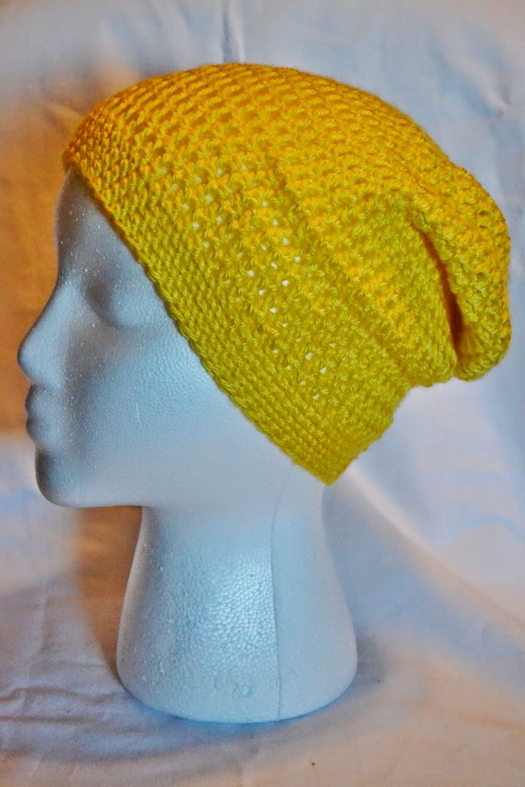 The Sequin Turtle: 12 Days of Christmas Hats: Day 10 - Simple Slouch Beanie. Child size pattern with resizing info.
