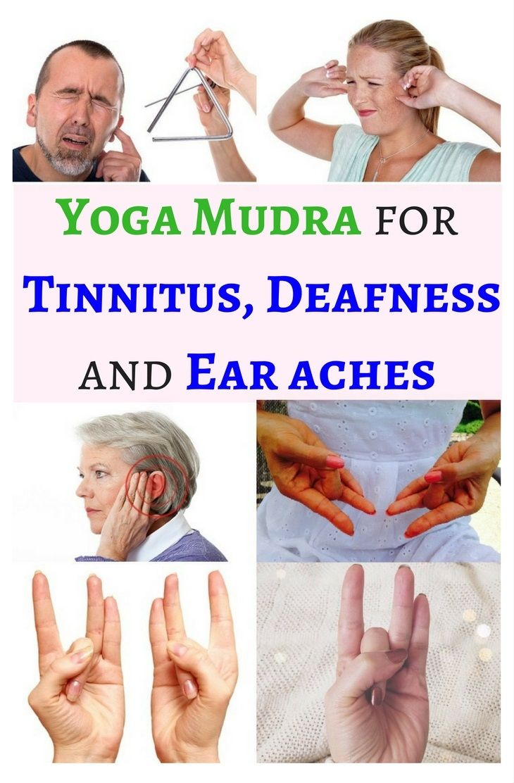 Shunya Mudra Regulates Vata Dosha In The Body To Heal Various Ear Problems Such As Tinnitus Deafness And Ear Aches Yogafo Tinnitus Remedies Mudras Ear Ache