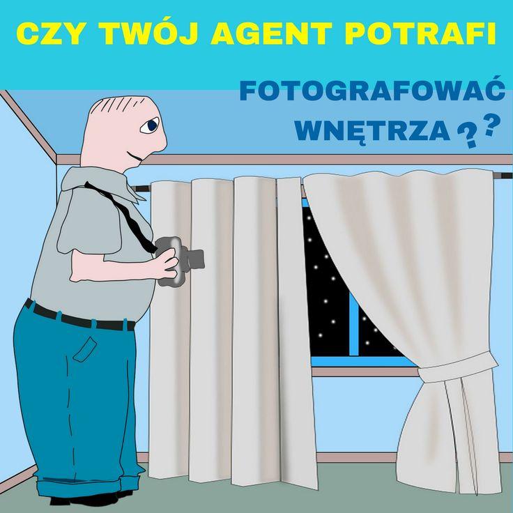 """Agent profesjonalny czy agent-amator? Któremu powierzysz poszukiwanie lokalu na Twój biznes? Albo Twojego nowego mieszkania?  No właśnie! Czy robi zdjęcia wnętrz smartfonem albo popularną """"małpką""""?  Czy ma profesjonalny aparat?  Czy używa statywu?  Zwraca uwagę na oświetlenie?   Jeśli oszczędza na własnym wyposażeniu zawodowym, to czy odpowiednio zadba o Twoje sprawy?  Czy profesjonalnie podejdzie do postawionego mu zadania? Pomyśl o tym."""