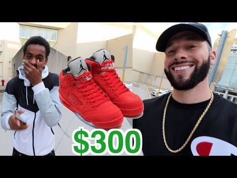 SURPRISING A SUBSCRIBER WITH $300 SHOES
