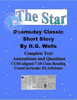 Geat for the New Year! This worlds collide doomsday tale is a great way to engage students with classic literature. The full text of the 1897 short story is annotated with explanatory notes, including in-text vocabulary definitions.