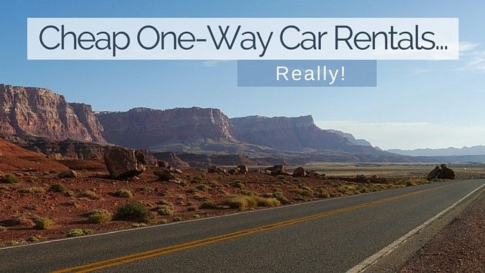 Cheap One-Way Car Rentals... Really? Really! - Solo Traveler