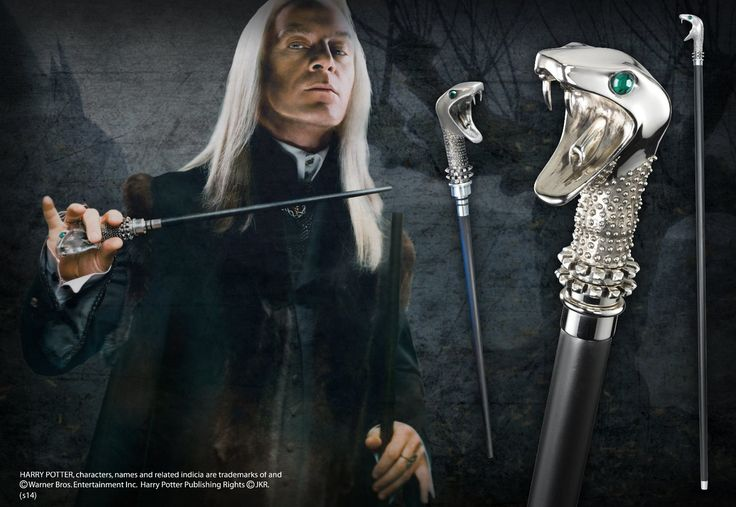 Lucius Malfoy Cane with Wand - The Noble Collection 9th
