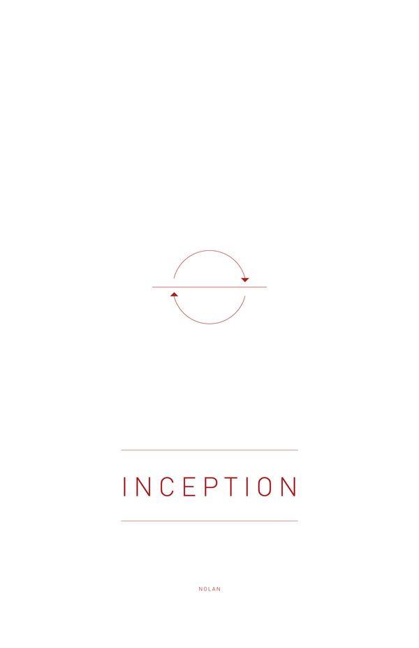 Inception (2010) ~ Minimal Movie Poster by Sander Jackson Siswojo ~ Nolan Series #amusementphile