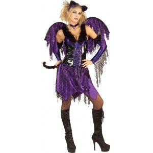 Déguisement ange violet femme, Déguisement ange gothique, Halloween, gothique