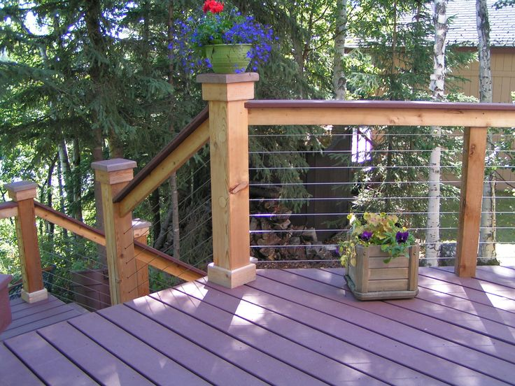 Best 1000 Images About Cable Deck Railing On Pinterest Cable 640 x 480