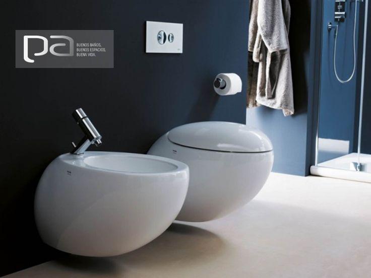 #BuenosBaños  Nuestra marca Laufen te presenta ALESSI ONE SANITARIO. La mejor porcelana sanitaria para tu baño. La encuentras de dos piezas y suspendida con tanque empotrada a la pared. El diseño y glamour para los clientes más exigentes.