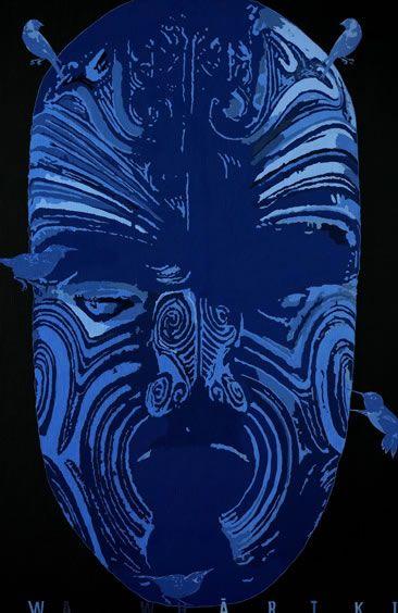 Shane Cotton, Te Waiwhariki 2004 (detail)