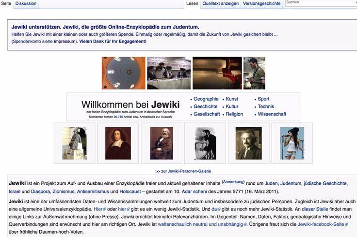 """Jeder kennt Wikipedia. Die berühmte Wikipedia ist aber nicht das einzige """"Wiki"""", es gibt mittlerweile Hunderttausende davon, zu jedem erdenklichen Thema. Und so gibt es auch ein Wiki zum Thema Judentum, in deutscher Sprache. Es heisst """"Jewiki"""", ein """"Kofferwort"""" aus dem englischen """"Jew"""" für """"Jude"""" und """"Wiki"""".  #Antisemitismus #Audiatur-Online #Bildung #Enzyklopädie #Geschichte #Holocaust #Information #Internet #Israel #Juden #Judentum #Jüdisches Le"""