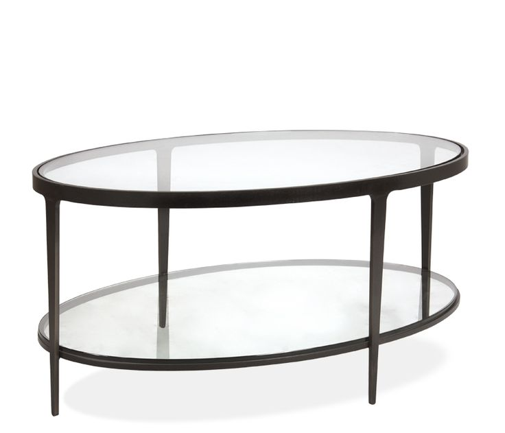 Clooney Oval Coffee Table - nice glass table that comes in different ...