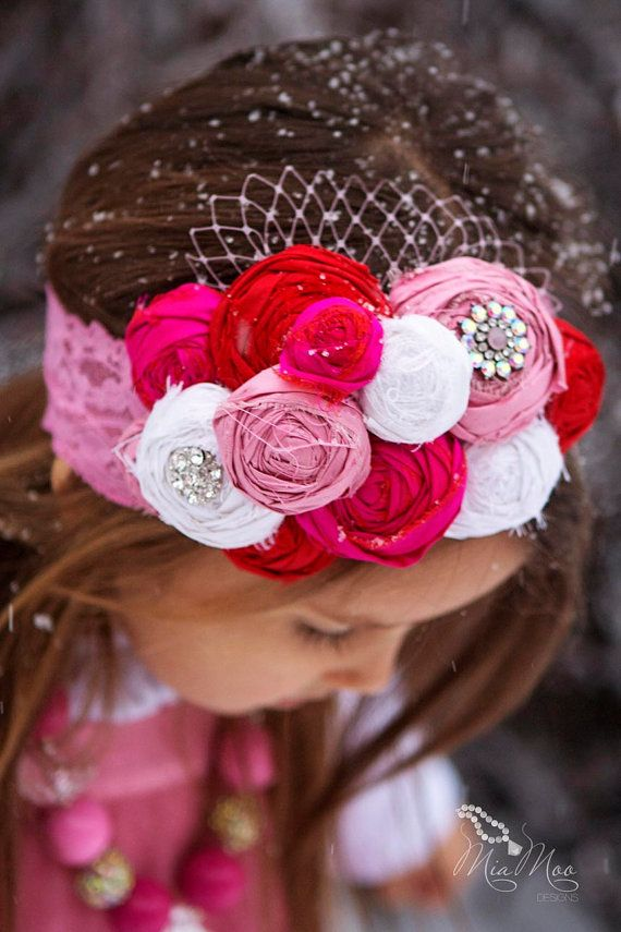 ETSY hair accessories for girls