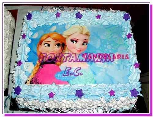 nice Fotos de tortas Frozen Disney #imagenesdeamor