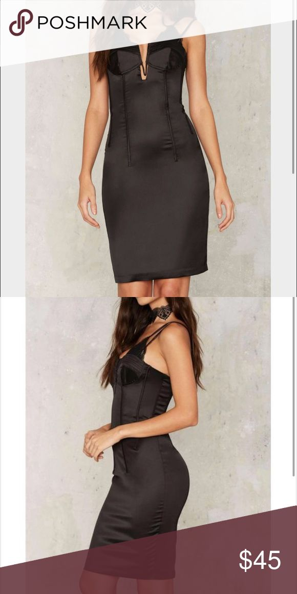 Bardot Bella Midi Dress Dawn of a new look. Bardot's Bella Dress from Nast Gal features a plunging lace neckline, structured underwire at torso, and midi length. Bardot Dresses Midi