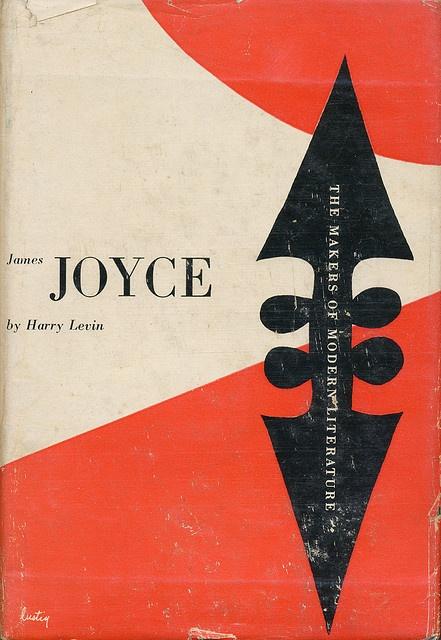 James Joyce book jacket design by Alvin Lustig by Scott Lindberg, via Flickr