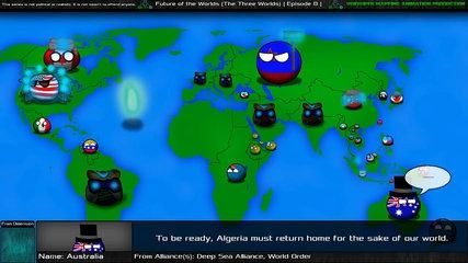 Future of the Worlds in Countryballs (The Three Worlds): Episode 8: Duel of Honor | موفيز هوم  The Three Worlds is a non-canonto two of myknown as Future of Asia and Future of the Worlds. However events in thismay be related to Future of Europe . Thisinvolves nations from those threewhere they will be able to meet each other and shape their destiny. However their meeting may only be the beginning of what may happen in VoidVipers dream world.\r \r Future of the Worlds in Countryballs is an…