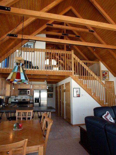 25 best ideas about barn loft on pinterest cabin loft for Cabin loft bedroom ideas