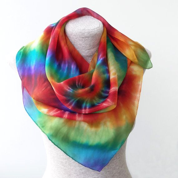 FREE SHIPPING Bright and shiny rainbow spiral by Monteboo on Etsy