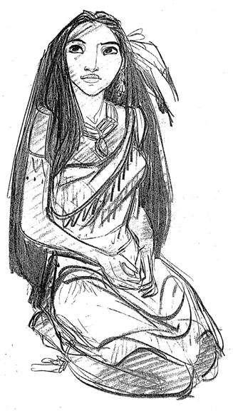 Keane- Pocahontas character development