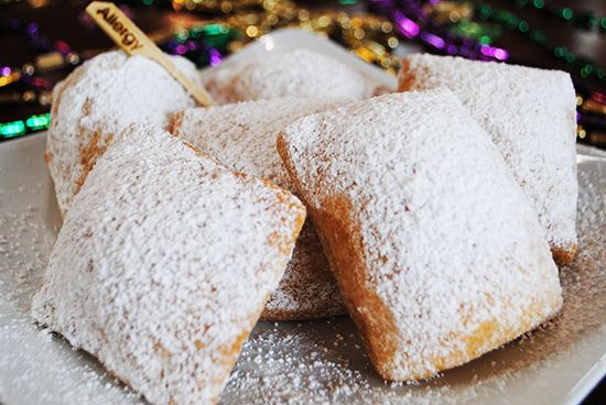 The Disney chefs' Gluten Free beignets (Sassagoula Floatworks and Food Factory at Disney's Port Orleans French Quarter Resort)