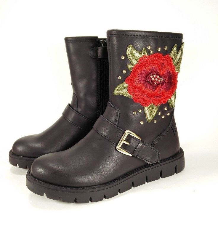 Lelli Kelly Brand NEW 2017 Girls Kids Winter Boots Red Rose Shoes Size EU 28-37  #LelliKelly #Boots