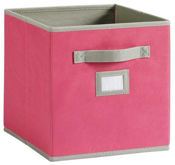 Martha stewart living fabric drawer storage and for Martha stewart garage organization