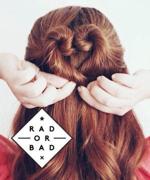 Rad or Bad: A Heart-Shaped Bun