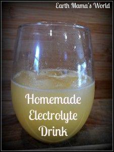 {During workout} Homemade Electrolyte Drink: 2 c water, .5 c OJ,  .25 c lemon juice, 3-4 Tbsp honey, 1/8 tsp sea salt