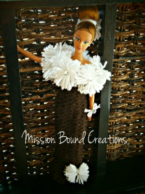 How to Loom Knit a Doll Dress
