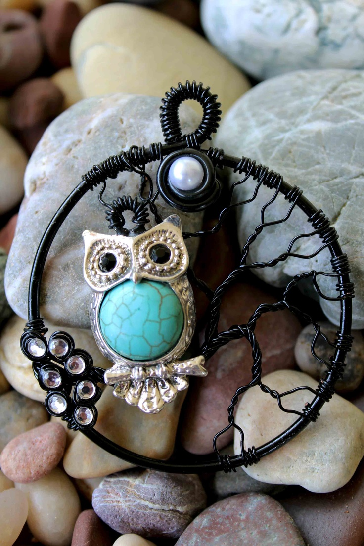 Tree of Life with Turquoise owl