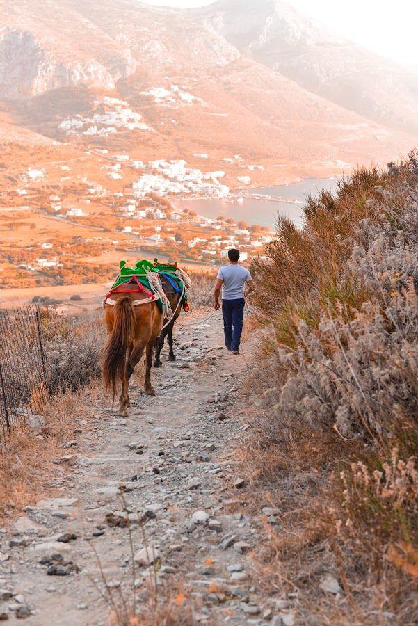 Life in Amorgos, Cyclades Islands