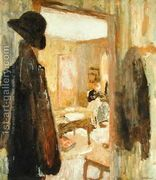 The Open Door, 1900-04  by Edouard (Jean-Edouard) Vuillard
