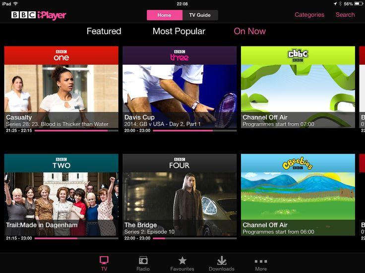 @Jiri Jacknowitz Mocicka TV Research Apps  BBC iPlayer