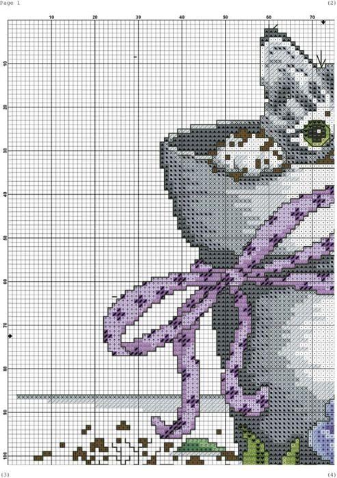 Картинки по запросу шотландская вислоухая кошка вышитая крестиком