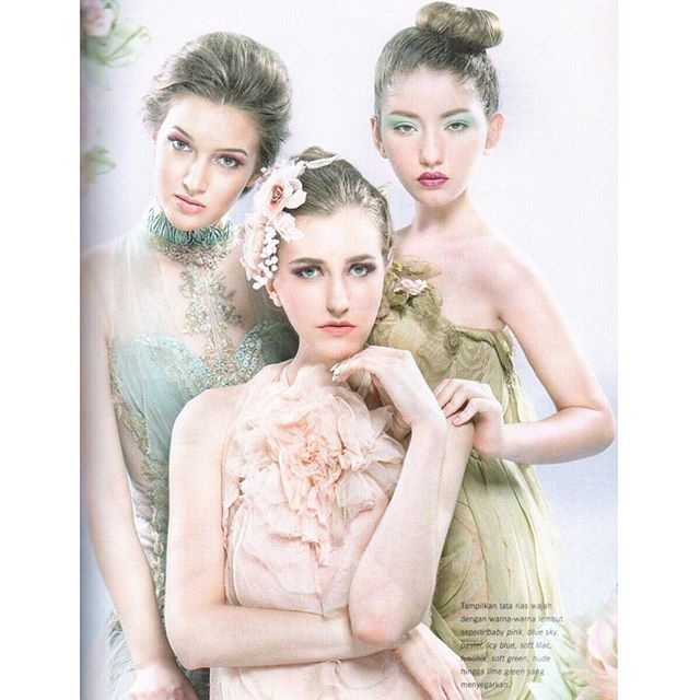 """Editorial for @belladonna_mahligai  Gowns @ruslytjohnardiatelier  Photographer @Mokowong Makeup & Hairdo @noveoalexander, @Adriansuryareal, Michelle Allen Models: Alina, Katya & Natalia (@EnigmaIndonesia) Text & fashion stylist @RadotMarpaung #RuslyTjohnardi #gown #highfashion #photography #lace #tulle #highfashion #amazinggown #beautifuldress #indonesiandesigner #asiandesigner #style #fairy #editorial #makeup #hairdo #couture #hautecouture #accessories #Jewelry #gorgeous #beautifulgown"""