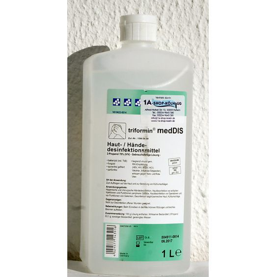 Dr. Weigert Triformin medDIS Hautdesinfektion Händedesinfektion 1 Liter