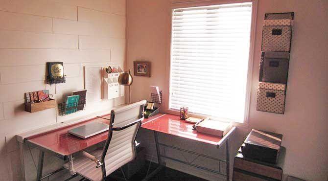 Le bureau d'Anouk Meunier