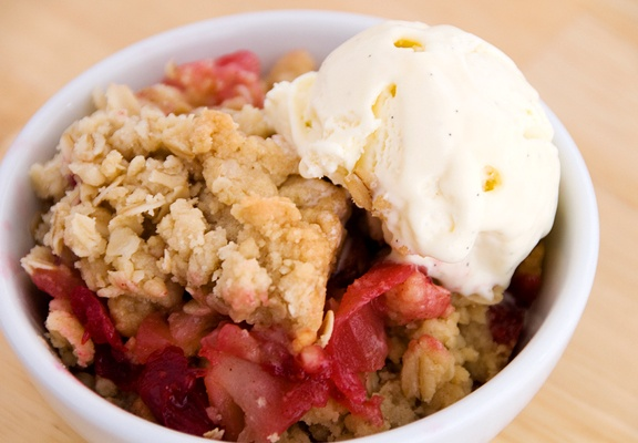 Apple Cranberry Crisp | Recipe