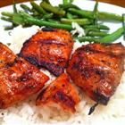 grilled salmon: Grilled Salmon, Garlic Powder, Soy Sauces, Olives Oil Cups, Best Salmon Recipe, Salmon Marinades, Seasons Recipe, Buttons Recipe, Salmon Recipes