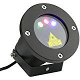 Arrownine Triple RGB Model Christmas Laser Projector Lights Outdoor Show Multiple Colors Pattern Decoration Red... christmas deals week