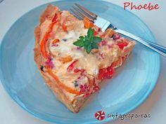 Ελληνική τάρτα με πιπεριές και φέτα #sintagespareas