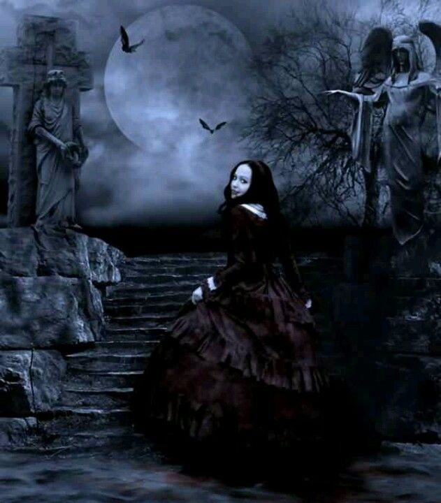 gothic art fantasy artwork - photo #14