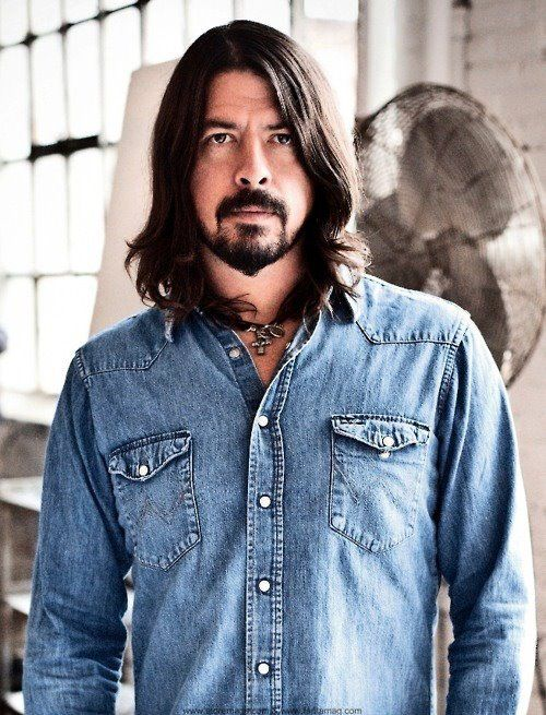 Dave Grohl. Just look at all  that goodness and bad-assery in one person.