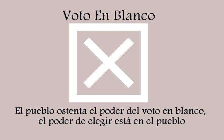 No Insista, Voto En Blanco Es Secreto | Jorge Moncada Angel