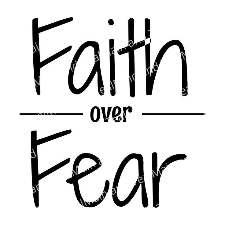 Download Faith Over Fear SVG, Faith SVG, SVG, Faith Over Fear ...