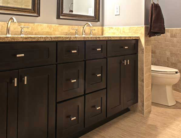 cliqstudios birch sable kitchen cabinets in the dayton style