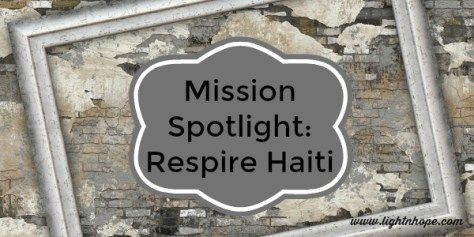 Check out this wonderful mission organization that provides children in Haiti with access to school, physical and occupational therapy, mental health counseling, sports opportunities and job skills for women! They are currently accepting monetary donations and donations of tennis balls and grips for racquets.